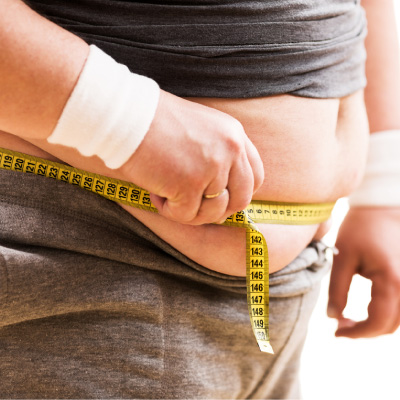 Obesity can lead to additional health problems.